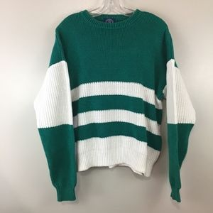 GAP Vintage Oversized Striped Knitted Sweater